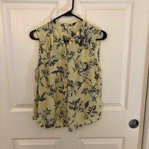 Joie Floral Silk Shirt